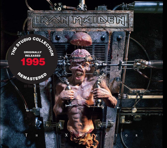 Cd Iron Maiden - The X Factor (1995) - Remastered - Embalage