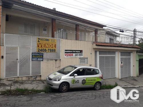 Imagem 1 de 16 de Sobrado À Venda, 200 M² Por R$ 730.000,00 - Jardim Vila Galvão - Guarulhos/sp - So0131