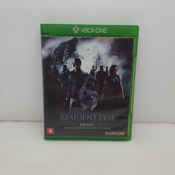 Jogo Resident Evil 6 Xbox One Original
