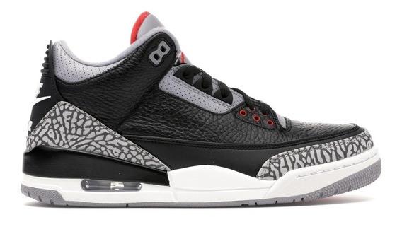 Air Jordan 3 Retro Og Black Cement Meses Sin Intereses