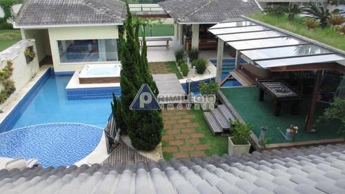 Casa À Venda, 4 Quartos, 4 Suítes, 4 Vagas, Barra Da Tijuca - Rio De Janeiro/rj - 94