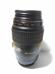 Lente Canon Ef 100mm F/2.8 Macro Usm Como Nova