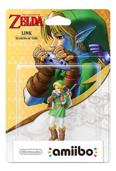 Amiibo Link Ocarina Of Time - The Legend Of Zelda