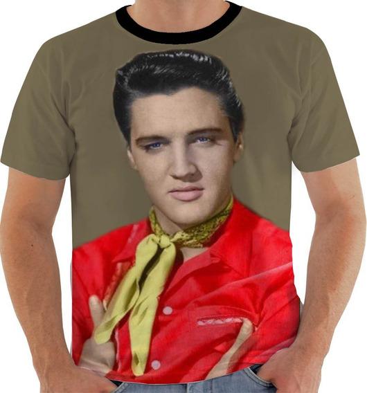 Camiseta Nw64 Elvis Presley Rei Do Rock Cantor Compositor Cl