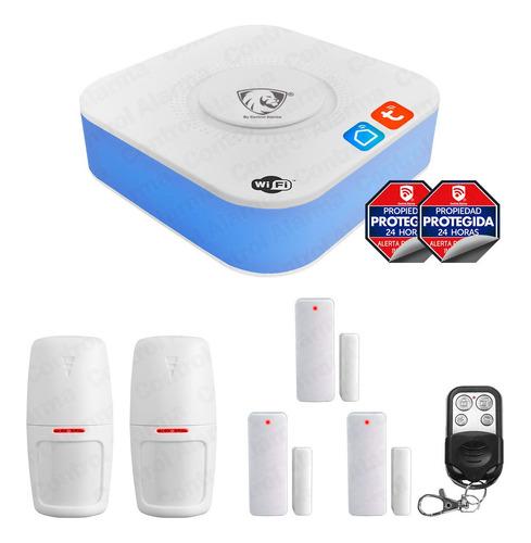 Imagen 1 de 10 de 7 Alarma Wifi Anti Robo App Google Alexa Seguridad Casa