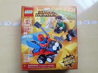 Lego Mighty Micros Super Heroes Scarlet Spider Vs Sandman