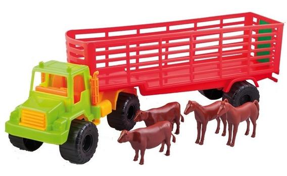 Duravit Camion Semi Hacienda C/animales