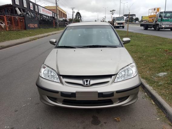 Sucata Para Retirada De Peças Honda Civic 1.7 Lx 4p