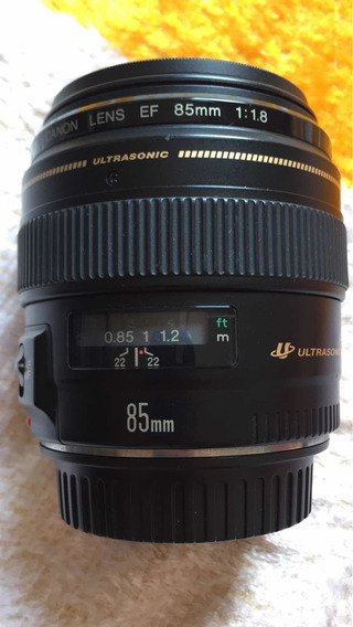 Lente Ef 85mm 1.8 Canon