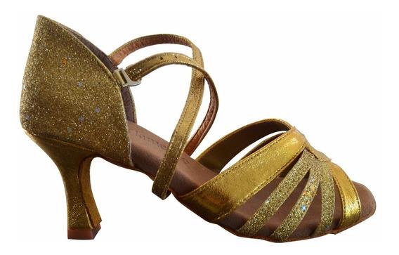 Calzado De Baile Danza Salsa Bachata Merengue Mvdsport