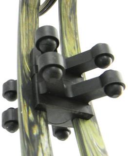 Bowjax Revelation Split Amortiguadores Limb, Fits 11/16h