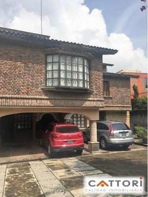 Venta Casa A Espaldas Del Bosque De Tlalpan En Colonia Miguel Hidalgo