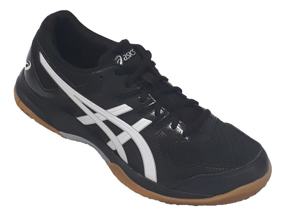 Zapatilla Asics Gel Rocket Indoor Original Ngo/bco