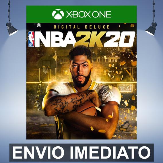 Nba 2k20 Digital Deluxe - Codigo De 25 Digitos Xbox One
