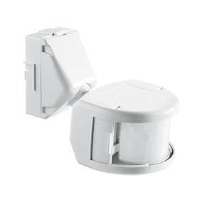Sensor Presença Frontal Externo Branco 180° Exatron