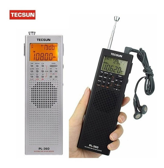 Rádio Digital Tecsun Pl-360 Dsp Am Af Sw Etm Pll