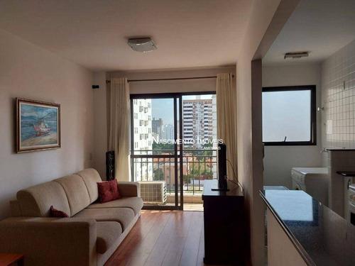 Imagem 1 de 30 de Apartamento Flat À Venda, Andar Alto, 51 M² Por R$ 480.000 - Cambuí - Campinas/sp - Fl0003