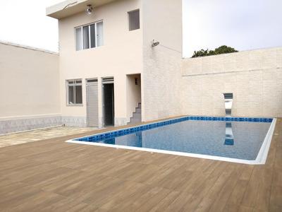Casa Residencial À Venda, Vila Caiçara, Praia Grande - Ca0599. - Ca0599