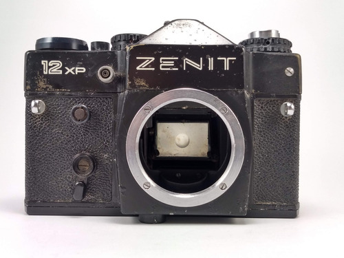 Câmera Slr Analógica Filme Zenit 12xp Máquina Fotográfica