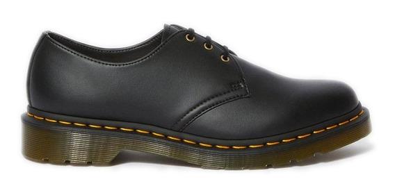 Dr Martens Vegano Zapato Negro Vegan 1461 Importado Nuevo