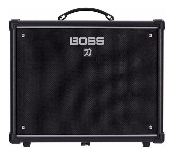 Amplificador De Guitarra Boss Katana 50 Watts - Combo 1x12