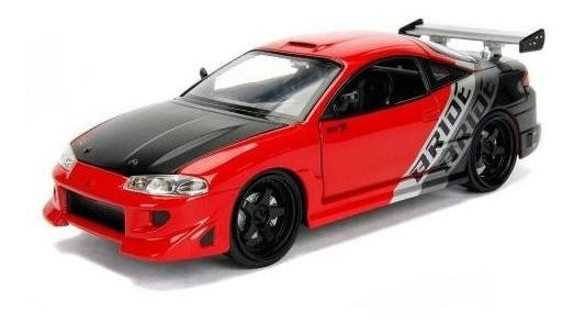 Miniatura Carro Mitsubishi Eclipse 1995 Jdm 1:24 Jada Toys