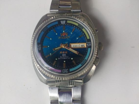 Relógio Orient Corda Sk Linha King Diver Gigante 25 Rubis