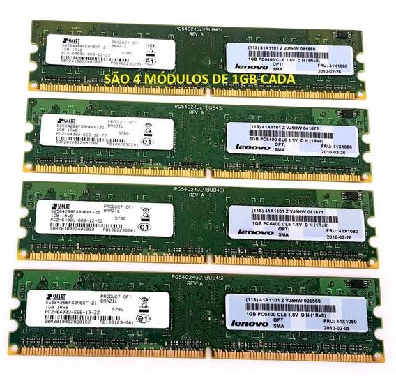 Smart Lenovo Ddr2 4gb 800mhz Pc2-6400 Kit 4x1