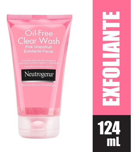 Gel Exfoliante Facial Neutrogena Oil Free X 124ml