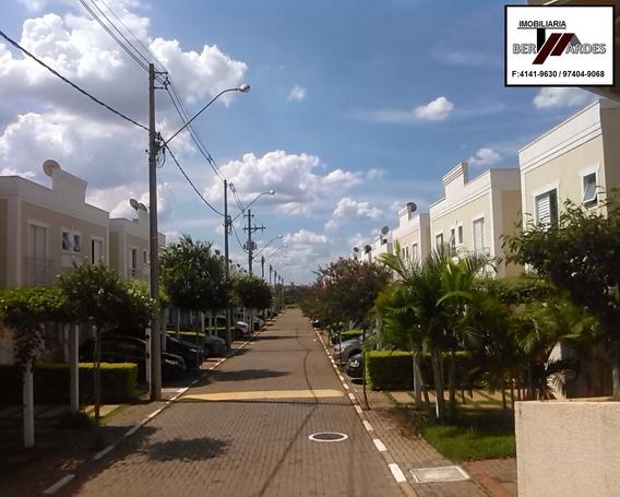 Casa Para Venda No Condomínio Vila Antúrio Parque Imperador, Campinas - Ca00104 - 32973855