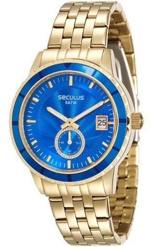 Relógio Seculus Feminino Analógico 28708lpsvds3