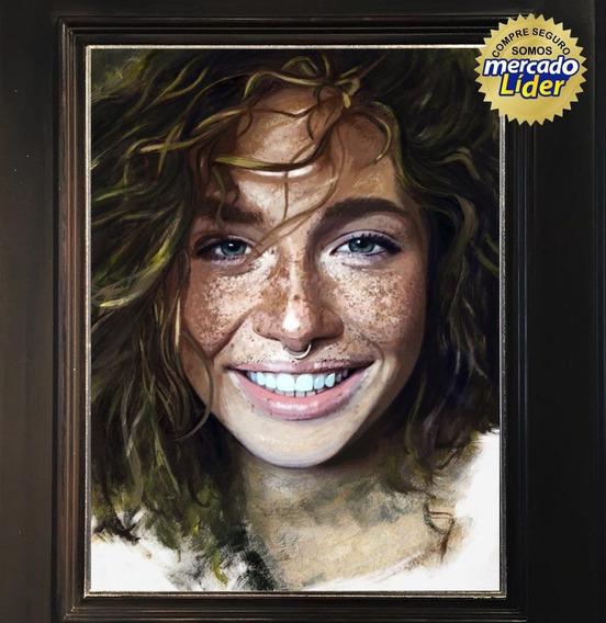 Retratos Al Oleo Pinturas Cuadros Trabajo Profesional