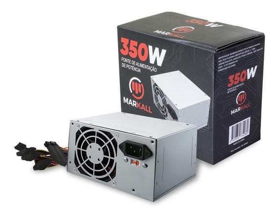 Fonte Para Computador Desktop Atx 350w Bivolt Garantia Nf-e