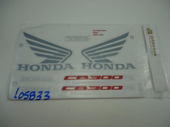 Adesivo Cb 300r Azul 12
