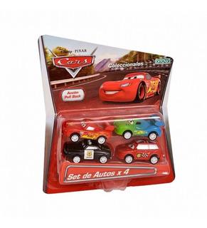 Autos Cars Pull Back X 4 Blister (1109)