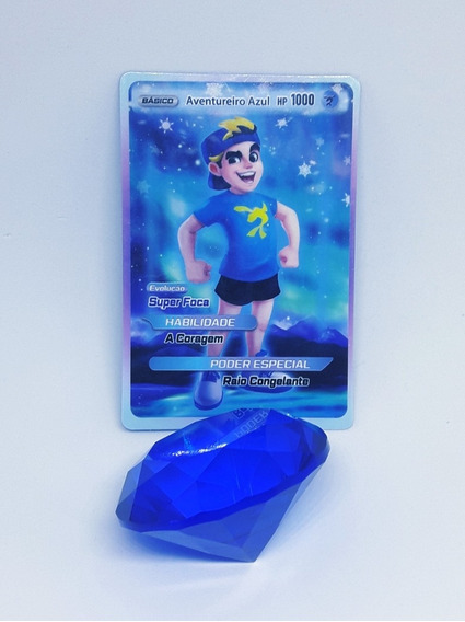 Pedra Do Poder Azul! Luccas Neto E Os Aventureiros