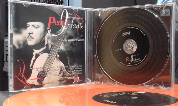 $ Cd Pedro Infante -50 Aniversario- Artistas Varios