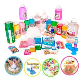 Kit Completo Para Fazer Slimes Todos Os Tipos