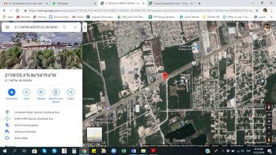 Terreno Sobre Carretera Cancún-mérida 3 Hectáreas
