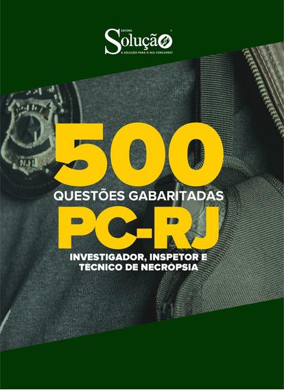 Caderno De Testes - Pc-rj 2020 Investigador