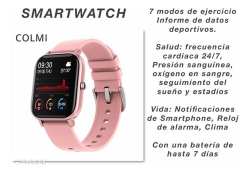 Imagen 1 de 3 de Reloj Smartwacth Color Rosa