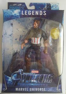 Muñeco Capitan America Avengers Articulado - Oferta - Y763