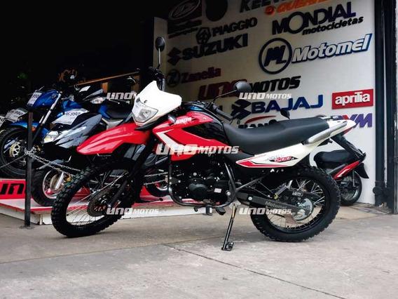 Motomel Enduro Skua 200 V6 0km Unomotos Linea 2020
