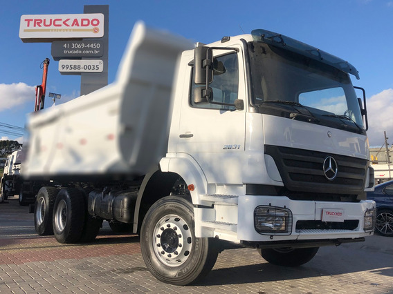 Mb Axor 2831 6×4 2011 No Chassi= 3344 2544 2540 2635 3340