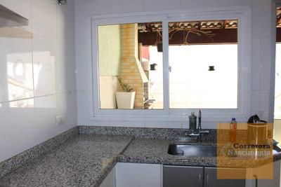 So0307- Sobrado Com 2 Dormitórios À Venda, 135 M² Por R$ 330.000 - Jardim Santa Maria - Jacareí/sp - So0307