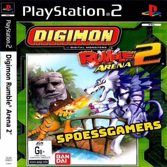 Digimon Rumble Arena 2 Ps2 Desbloqueado Patch