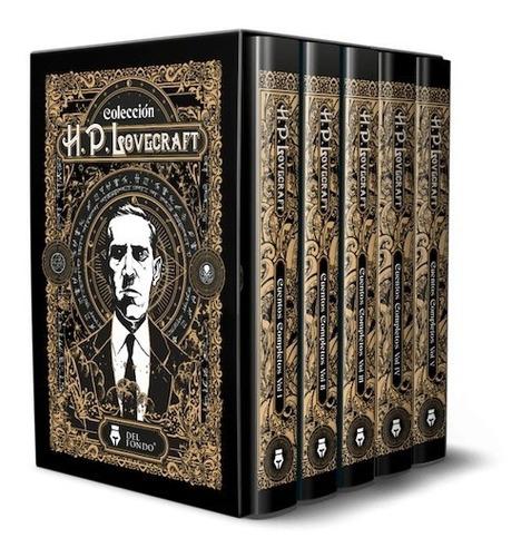 Estuche Cuentos Completos Caja - H. P. Lovecraft (5 Libros)