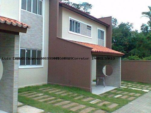 Imagem 1 de 15 de Casa Em Condomínio Para Venda Em Teresina, Morros, 3 Dormitórios, 3 Suítes, 4 Banheiros, 2 Vagas - Casa Vill_2-1131583