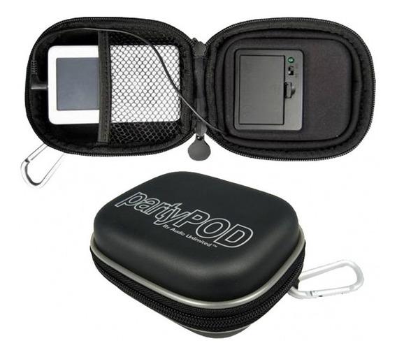 Estojo Rígido Alto-falante iPod E Mp3/mp4 Player