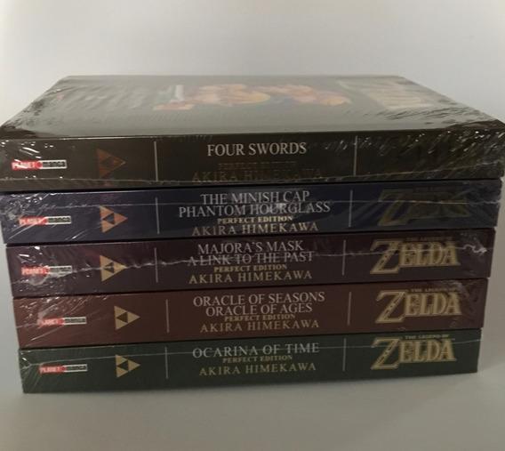 Coleção Completa Mangá Zelda Perfect Edition Panini